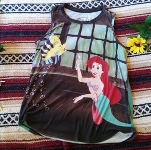 *312 Disney Little Mermaid Muscle Tank